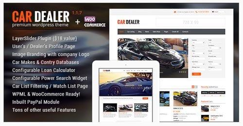 ThemeForest - Car Dealer v1.1.7 - Auto Dealer Responsive WP Theme - 8574708