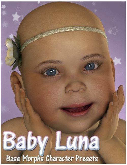 Baby Luna Base Character Presets