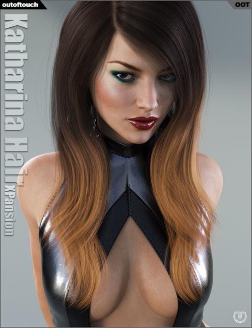 Katharina Hair Iray Texture XPansion