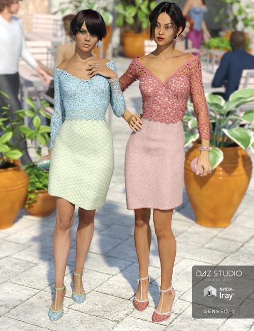 Uptown for Platinum Cocktail Dress