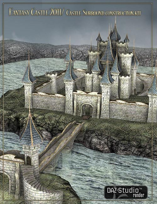 Fantasy Castle Grounds [ Iray UPDATE ]