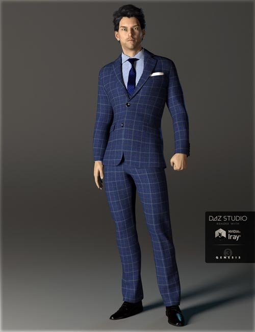 H&C Business Suit A for Genesis 3 Male(s)