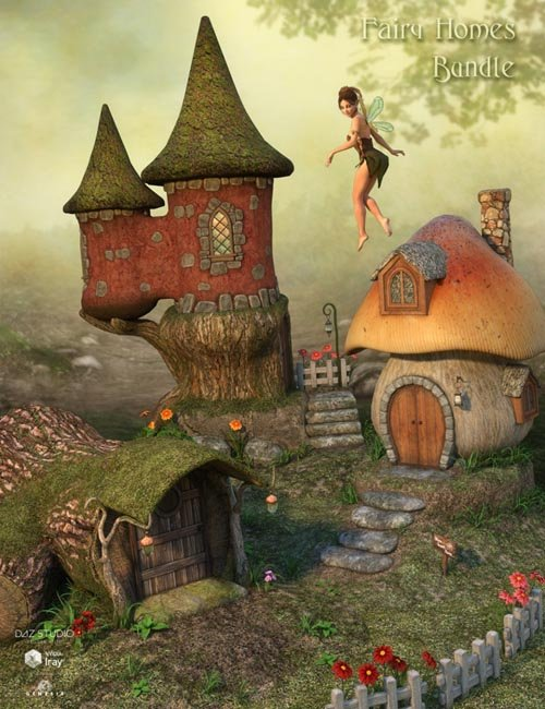 DM's Fairy Homes Bundle