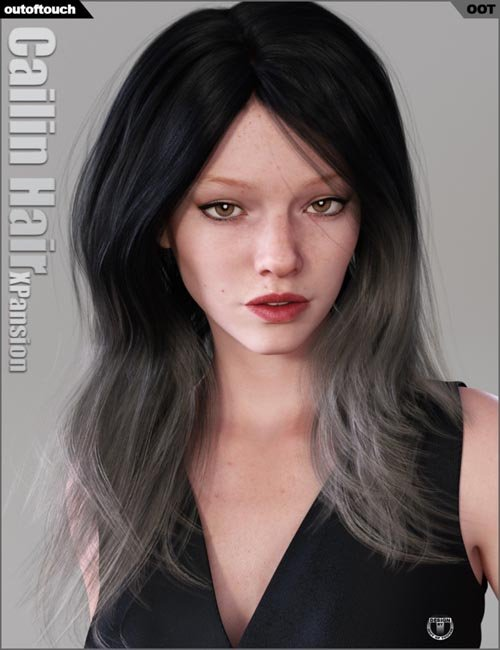 Cailin Hair Iray Texture XPansion