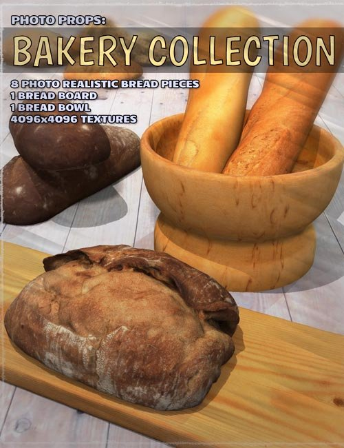 Photo Props: Bakery Collection