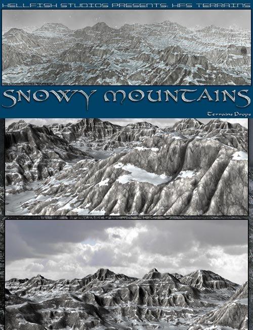 HFS Terrains- Snowy Mountains