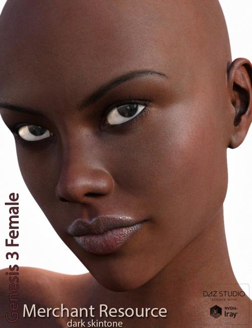 Genesis 3 Female Merchant Resource - Dark Skin