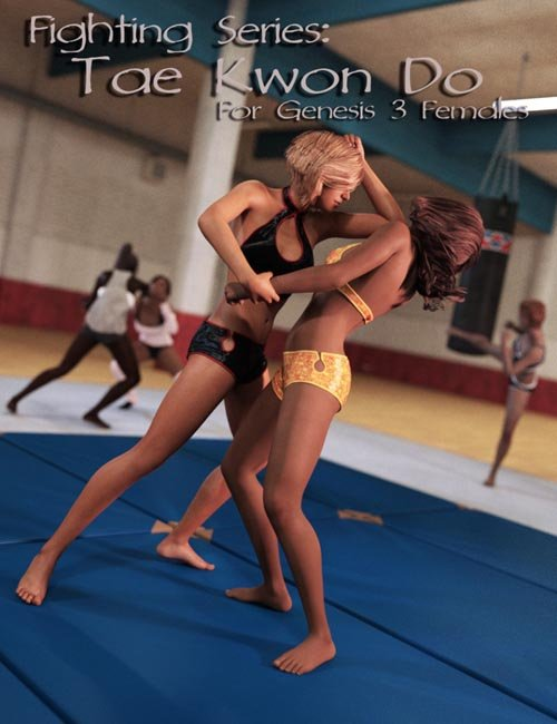 Fighting Series: Tae Kwon Do for Genesis 3 Female(s)