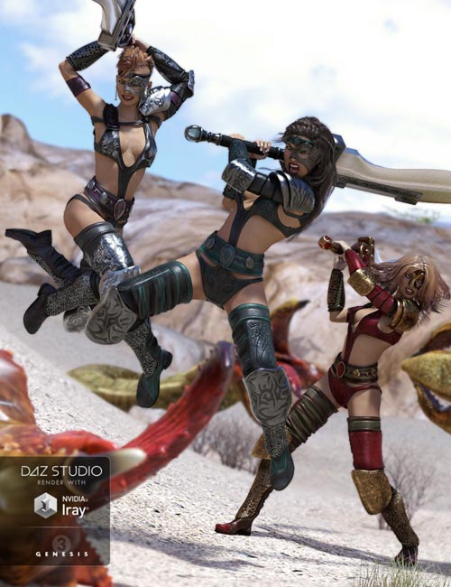 Battle! - 2H Sword Poses