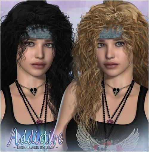 Addictive 1984 Hair