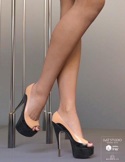 Foxy Pumps for Genesis 3 Female(s)