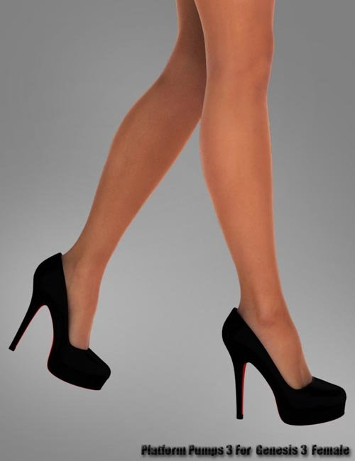 Platform Pumps 3 for Genesis 3 Female(s)