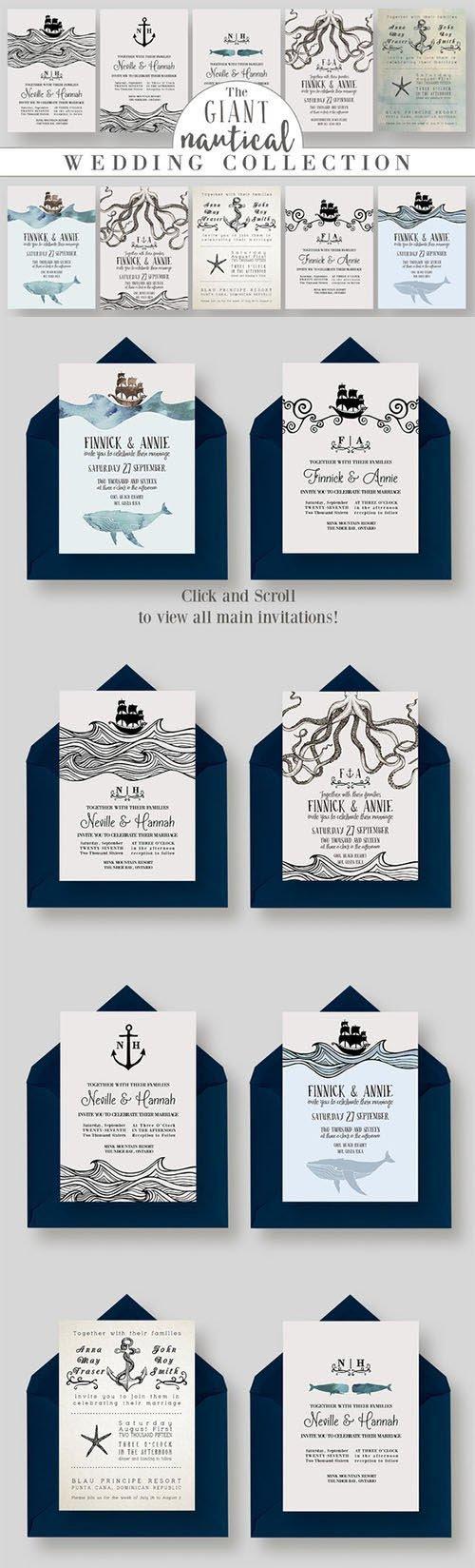GIANT Nautical Wedding Collection - CM 340161