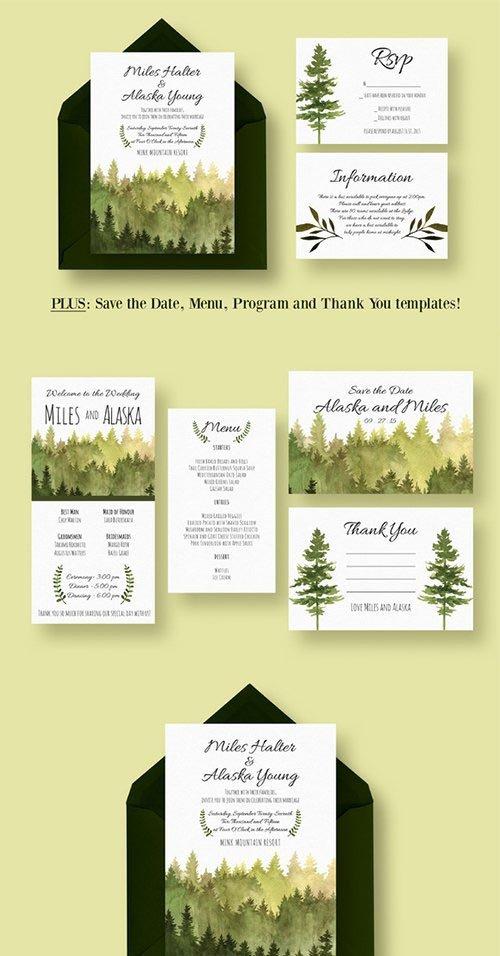 In the Woods Wedding Suite - CM 384215