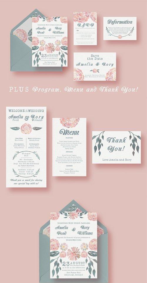 Watercolour Wedding Suite - CM 273709
