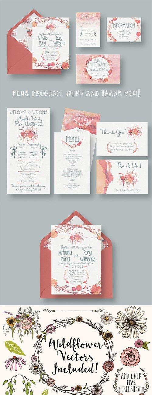 Watercolour Wedding Suite 2.0 - CM 274153
