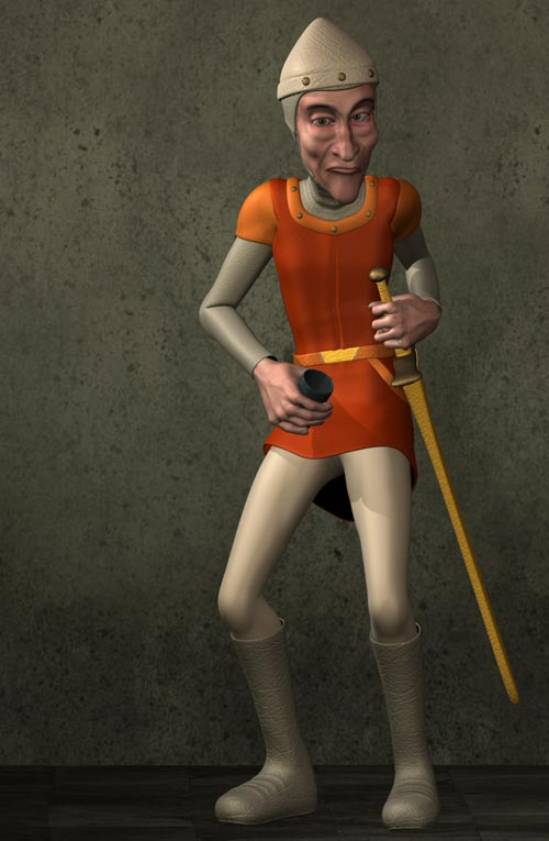 Pitterbill Prince Gallant