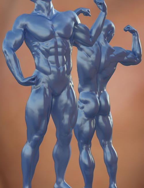 Musculature HD Morphs for Genesis 3 Male(s)