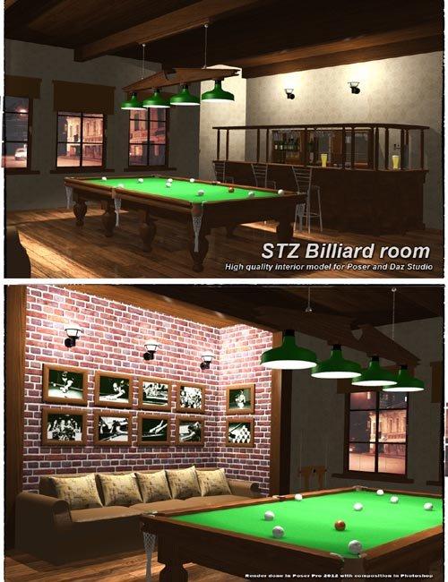 STZ Billiard room