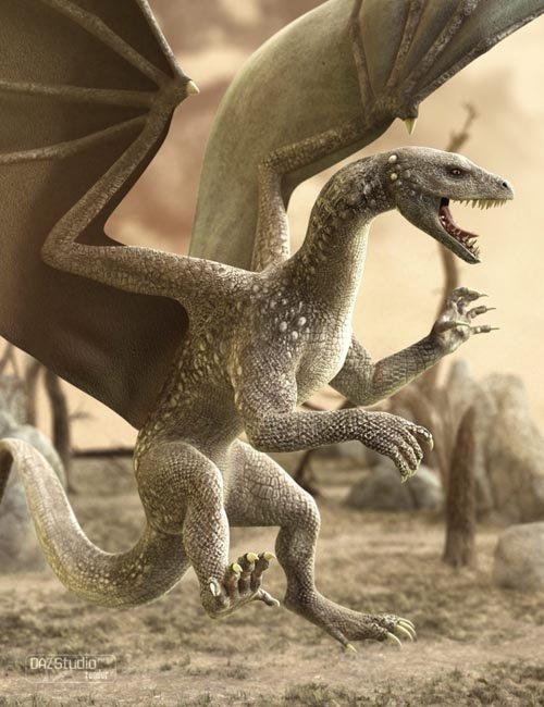 DAZ Dragon 3 [ Iray UPDATE ]