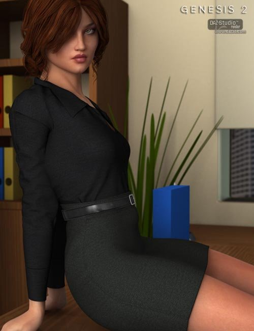 Workday Dress 2 for Genesis 2 Female(s)