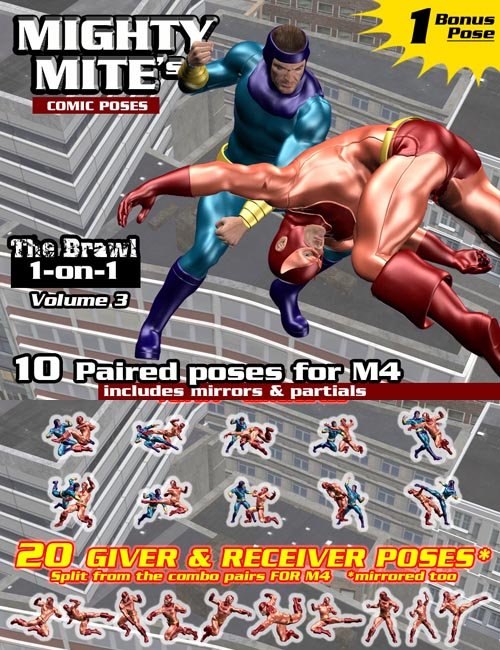 The Brawl: 1on1 v03 : MightyMite for M4: