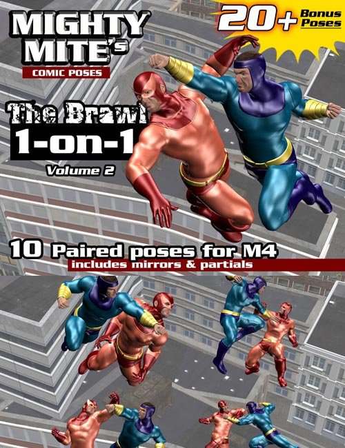 The Brawl: 1on1 v02 : By MightyMite for M4