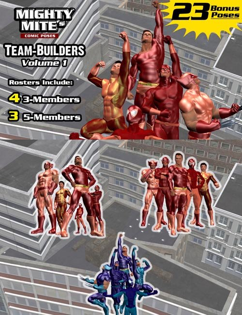 The Team-Builders v01 : By MightyMite for M4