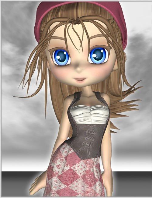 Little Peasant Girl for Tavern Dress