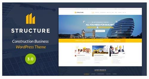 ThemeForest - Structure v3.1.2 - Construction WordPress Theme - 10798442