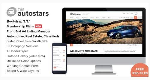 ThemeForest - Auto Stars v1.7.1 - Car Dealership & Listings WP Theme - 11560490