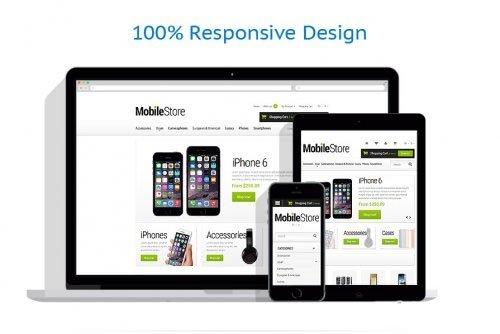 Mobile Phones OpenCart 2.0.1.0 Template - TM 53398