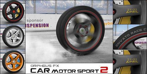Car Motor Sport Opener 2 - Project for After Effects (Videohive)