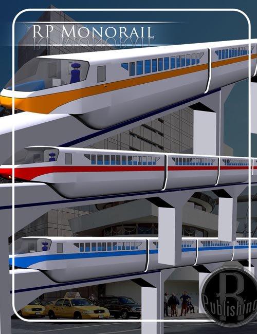 Monorail (Poser & OBJ)