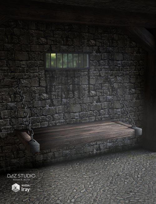 Medieval Prison Room