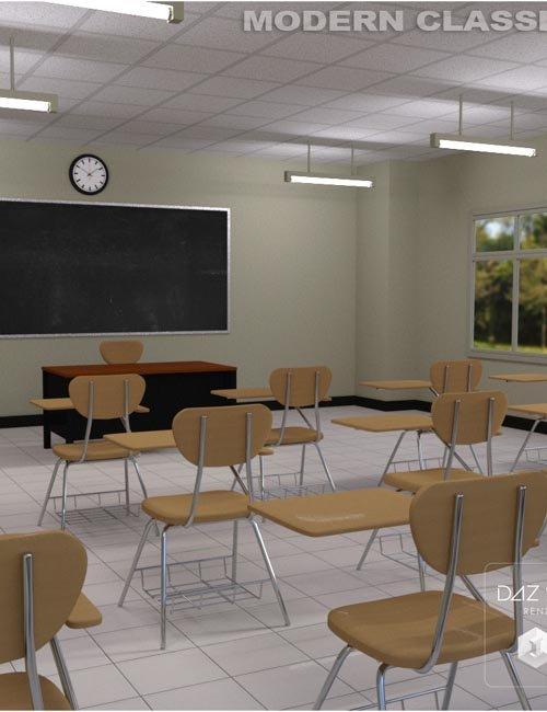 Modern Classroom Model ~ Modern classroom best daz d poses download site