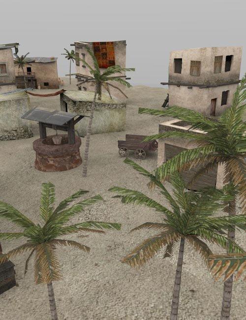 Desert Outpost (for Poser)