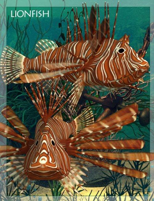 Lionfish [ .DUF & Iray UPDATE ]