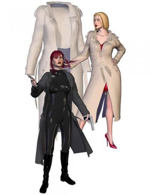 Victoria & Stephanie's Morphing Trenchcoat