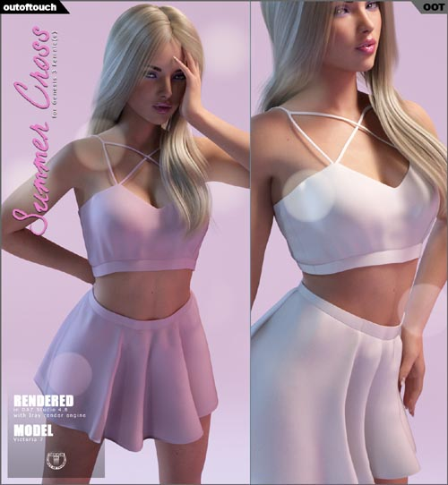 Summer Cross Fashion for Genesis 3 Female(s)