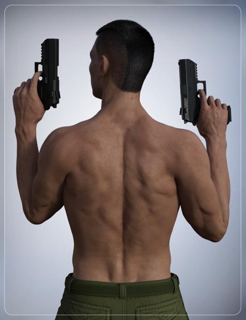 Simple Short Haircut for Genesis 3 Male(s)