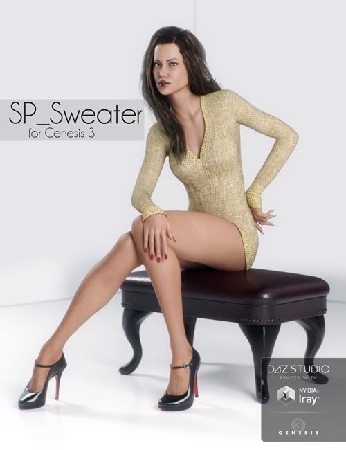 SP_Sweater for Genesis 3 Female