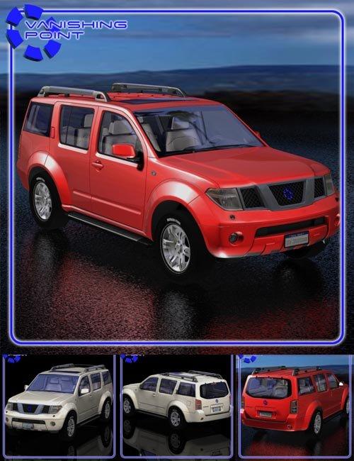Pathblazer SUV (for Poser)