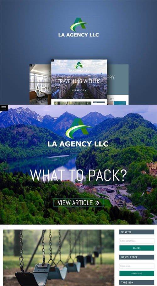 LA AGENCY LLC - HTML Blog Template - CM 687782