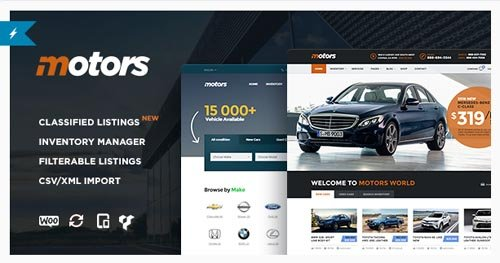 ThemeForest - Motors v2.3 - Car Dealership WordPress Theme - 13987211