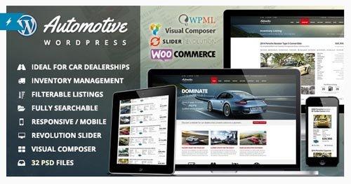 ThemeForest - Automotive v6.1 - Car Dealership Business WordPress Theme - 9210971