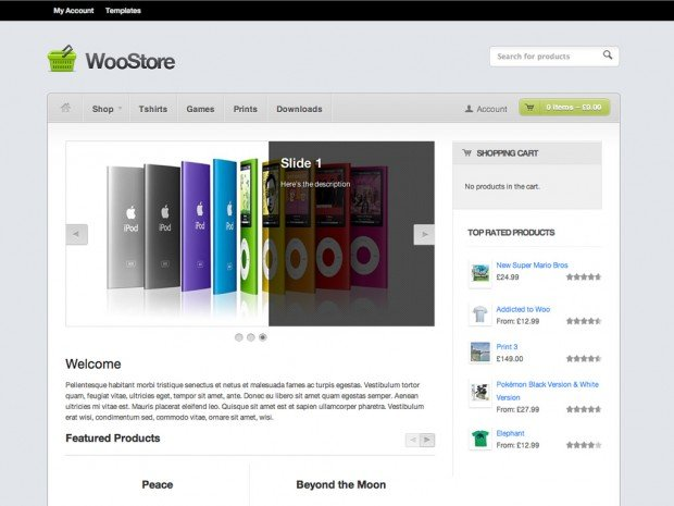 WooThemes - WooStore v1.8.3 - WordPress Theme
