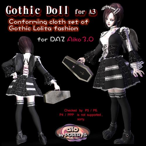 Gothic Doll for Aiko3.0