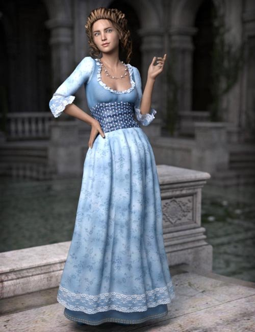 Fairytale Princess for Genesis 3 Female(s)