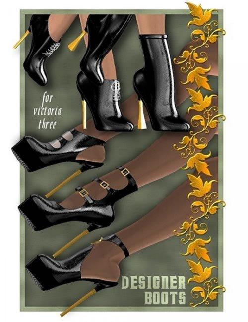 V3 Designer Boots